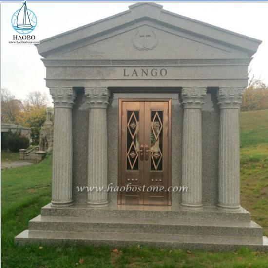 granite 6 crypt mausoleum