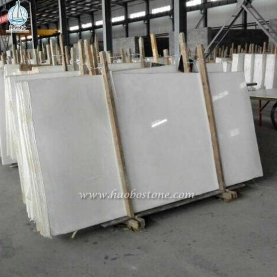Pure White Marble Slab for Flooring and Wall