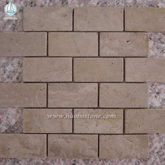 Sandstone Mosaic Wall Tile