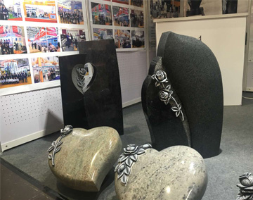 Haobo Stone attended German Funeral Exhibition in 2018